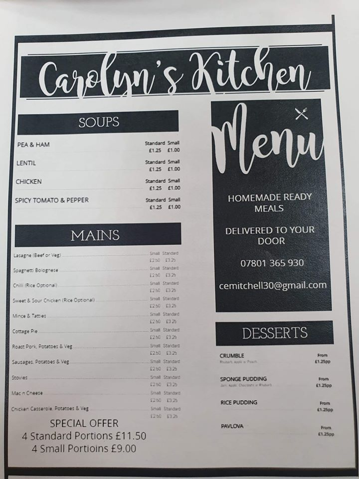 carolyns kitchen deliveries in dundee