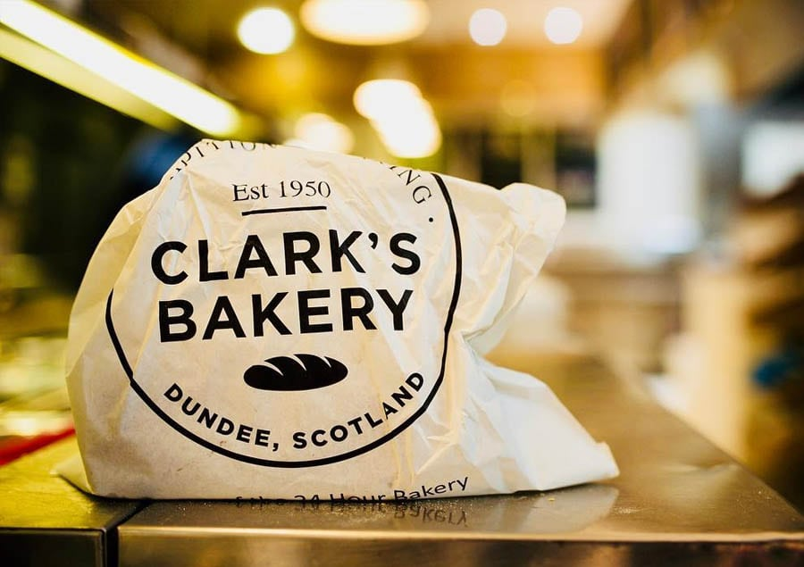 clarks bakery dundee food delivery