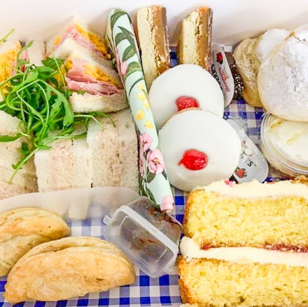 dundee afternoon tea delivery
